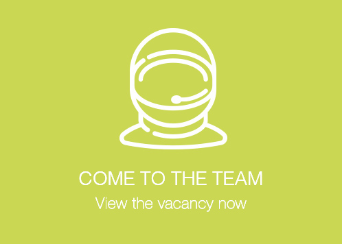 Come to the team - view the vacancy now!
